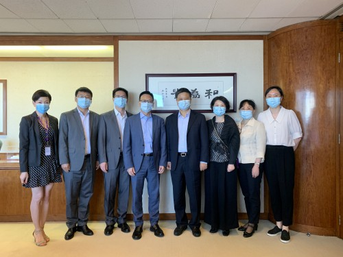 CCILC-Macau received a visit from the Zhejiang Provincial Department of Commerce