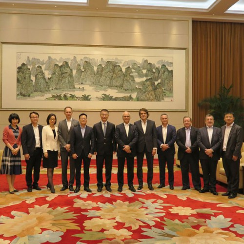 Visit to Yao Jian, Deputy Director of the Liaison Office of the Central People's Government in the M...