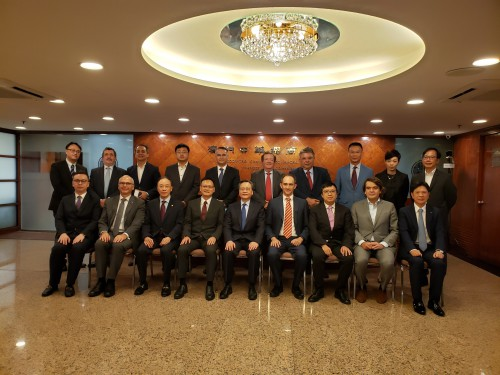 CCILC-Macau visits ACM to promote cooperation