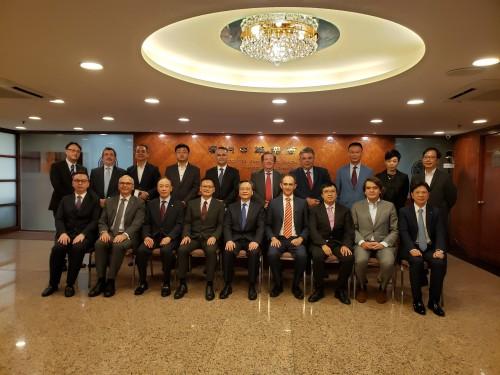 A CCILC-Macau visita a ACM para promover a cooperação