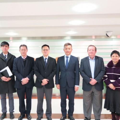 Visitou a Direcção dos Serviços de Economia (DSE)