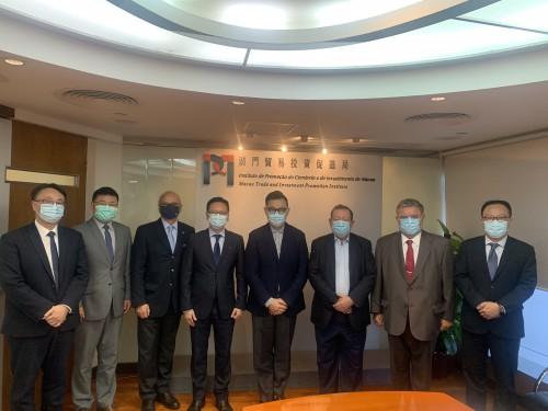 葡中工商會拜訪澳門貿易投資促進局