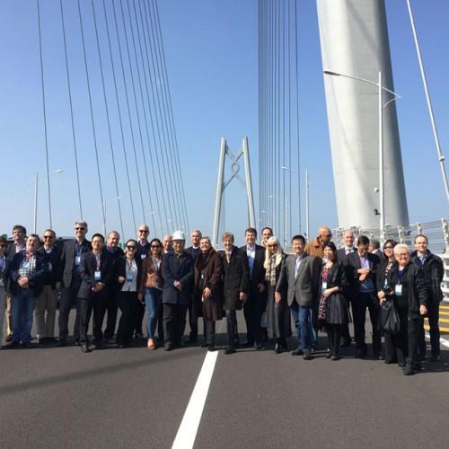 澳門歐洲商會及葡中工商會 - 澳門分會組織企業會員考察港珠澳大橋